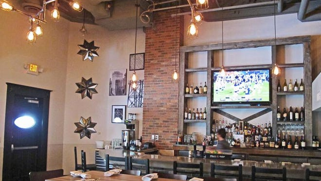 Ten at Camelback Esplanade offers soul food with style.