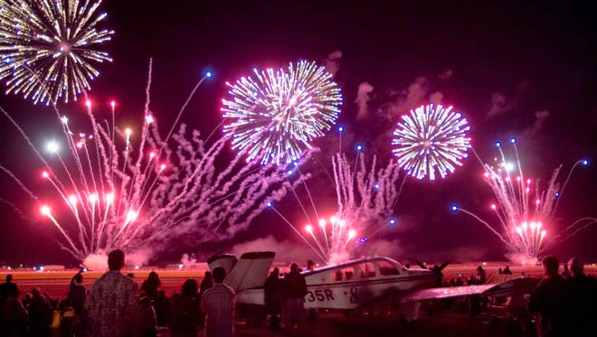 Any firework that explodes or leaves the ground is illegal in Oshkosh.
