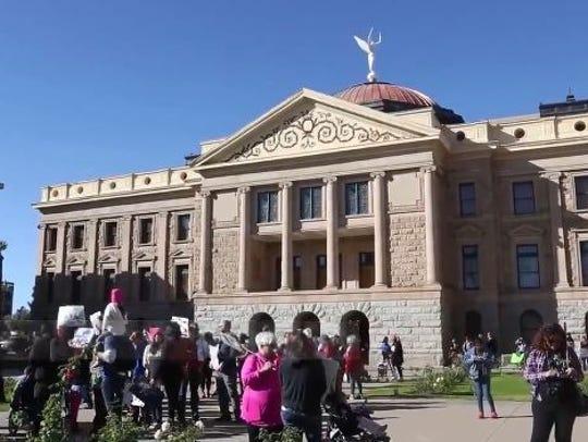 Women's March in Phoenix