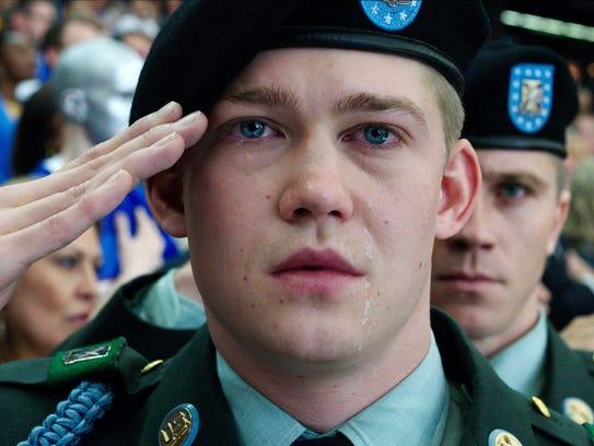 """Joe Alwyn portrays Billy Lynn in """"Billy Lynn's Long"""