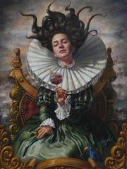 """""""La Bebedora de Mensajes"""" by Jose Parra"""