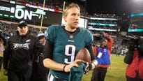 Eagles quarterback Nick Foles was released by the Rams in the summer of 2016, and he wasn't sure he wanted to play anymore.