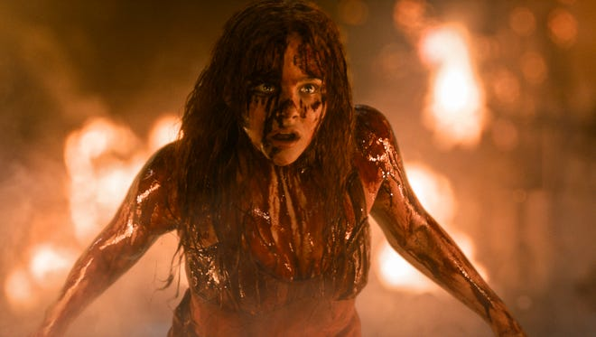 """Chloe Moretz get bloody in """"Carrie."""""""
