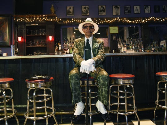 A local socialite who calls himself Mr. Detroit sits inside Bert's Marketplace restaurant and jazz bar, a longtime survivor in the Eastern Market neighborhood.