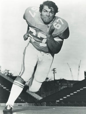 Former Tennessee offensive lineman Mickey Marvin was a second-team All-American in 1975. Marvin died on Feb. 6 after a long battle with ALS. He was 61.