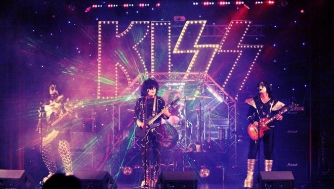 Local KISS tribute act Rock Bottom will perform at the Milton Theater at 8 p.m. Saturday, April 30. Tickets are $20.