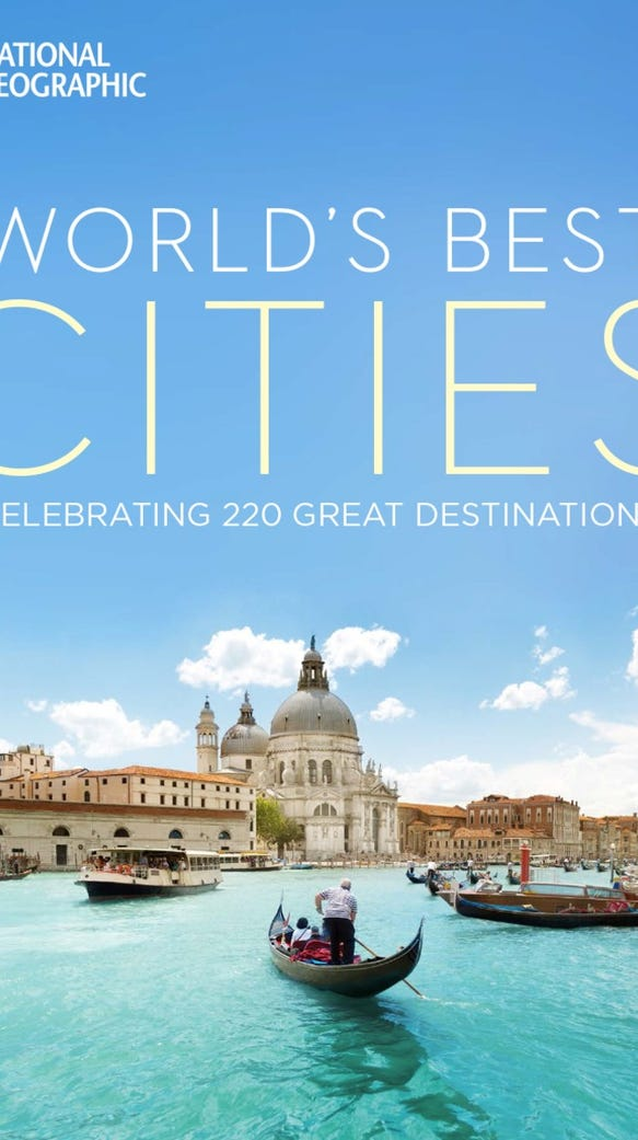 """The cover of """"World's Best Cities."""""""