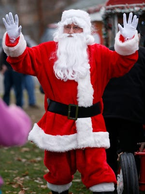 An army of Santa Claus clones is expected in Corning Dec. 10 for the first SantaCon.