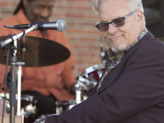 Mark Braun, a.k.a. Mr. B., performs as a trio, with
