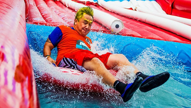 The Wipeout Run will come to Wilmington June 13.