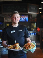 Sean Reif, a server and bartender at Beef 'O' Brady's,