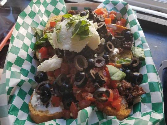 Nachos Italiano from A Little Italian food truck.