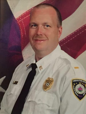 Andover Borough Councilman Scott Danielson died Saturday of a massive heart attack after assisting an EMS unit that responded to a car accident involving his daughter.