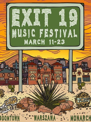 The Exit 19 Music Festival is set for three Central and Downtown venues from March 11 through 23.