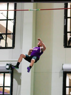 Colonel Crawford grad and current Mount Union senior Tyler Orewiler finished third in the nation in the indoor pole vault this winter
