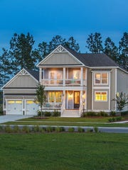 A home built by Crescent Homes, Charleston, S.C.'s