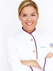 Celebrity chef Cat Cora is co-owner of Mesa Burger, a newly opened restaurant in Santa Barbara's Mesa neighborhood.