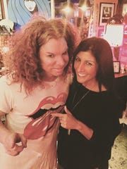 Dayna Roselli, a Rush-Henrietta graduate who is a TV news anchor/reporter in Las Vegas, says running into Carrot Top around town is not uncommon.