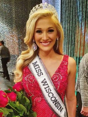 Skylar Audrey Witte, 19 is Miss Wisconsin-USA 2017