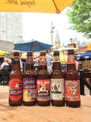 Outdoor beer gardens across America