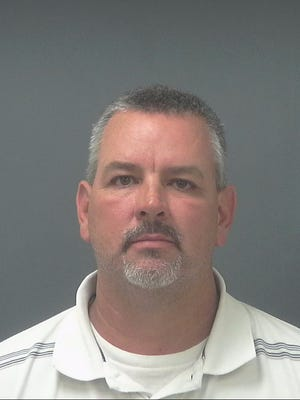 Jay High baseball coach Brian Moye was arrested on Aug. 31 and charged with three counts of first-degree misdemeanor battery after allegations he inappropriately touched female students.