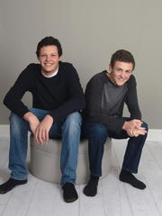 Brothers Taylor Christie (left) and Evan Woodward died