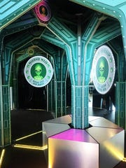 Get lost for the fun of it in Encounters Ocean City Mirror Maze.