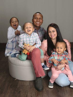 Tony Forney, a Camden County Police officer, is now the sole supporter of his family of five now that his wife, Ronni-Elizabeth, is battling autoimmune illnesses that have left her unable to work.
