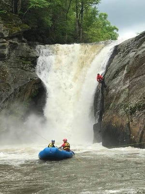 Rescuers from Avery County Sheriff's Department, Avery County Emergency Management, Linville Central Rescue and numerous fire departments have been working since Sunday to recover the body of a man who drowned at Elk River Falls.