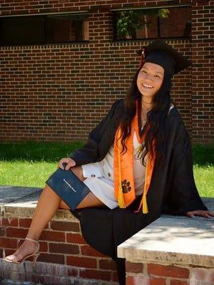 Kamryn Li, Taunton High School, who will be attending Lehigh University, received a ONECommunity scholarship.