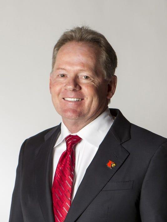 University of Louisville head football coach, Bobby Petrino