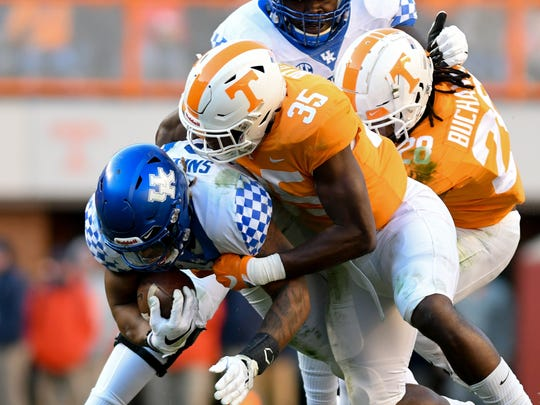 Nov 10, 2018; Knoxville, TN, USA; Tennessee Volunteers