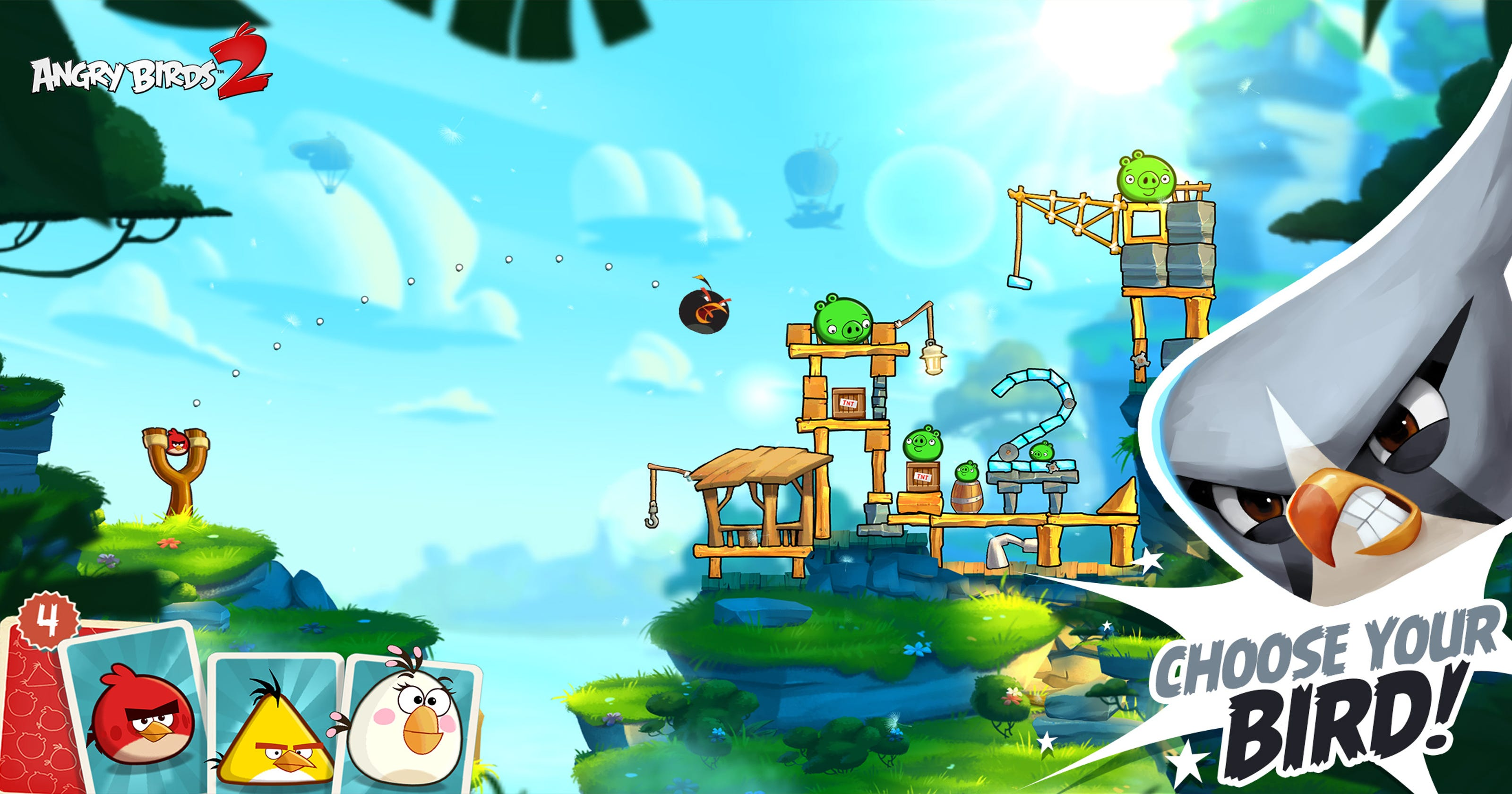 Downloads of 'Angry Birds 2' top 10 million