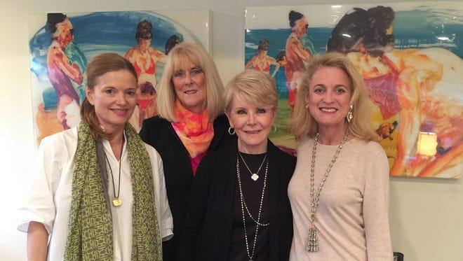 l-r Emily Chapman, Margot Nelligan,  Nancy Stone,  Jennifer Powers.
