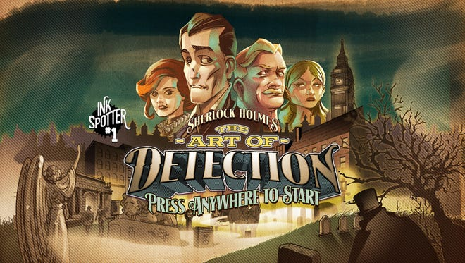 """Interactive storytelling at it's most unique, """"Ink Spotters"""" gives you the chance to uncover a new Sherlock Holmes story piece by piece. Available on iOS devices for $2.99."""