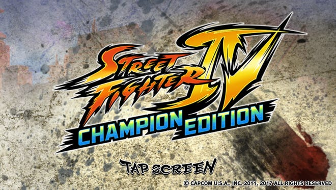 """This image shows a scene from """"Street Fighter IV: Champion Edition"""""""