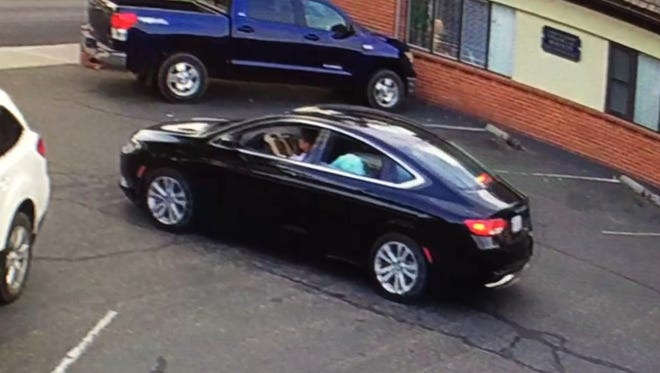Joseph Hetzel, 52, of California, and Virginia Paris, 55, are believed to be traveling in Paris' car, a black 2015 Chrysler 200 with a Califonia license number of 7NGE514.