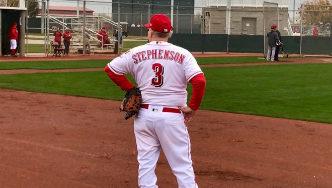 Bill Stephenson realized his dream of playing in Reds Fantasy Camp.