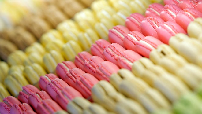 Belle Sucre Bakery has a wide variety of macarons.