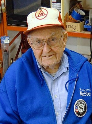 Longtime Steuben County volunteer Harold Hager turns100 years old May 17.