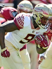Florida State Seminoles running back Jacques Patrick