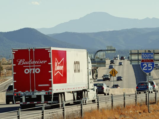 120-mile beer run made by self-driving truck