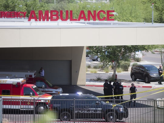 The man who shot himself in the parking lot of Banner