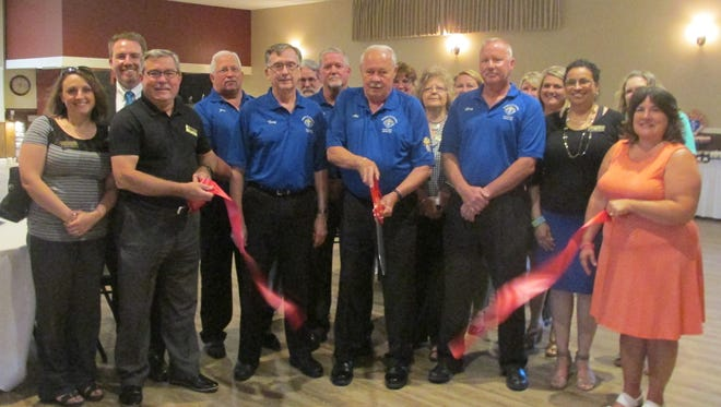 Knights of Columbus 671 has a ribbon-cutting for its newly remodeled reception hall.