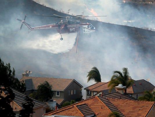 EPA USA CANYON FIRE 2 DIS FIRE USA CA