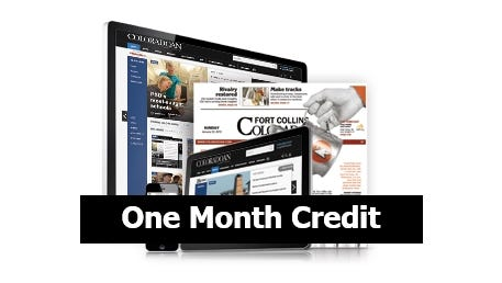 One Month Credit