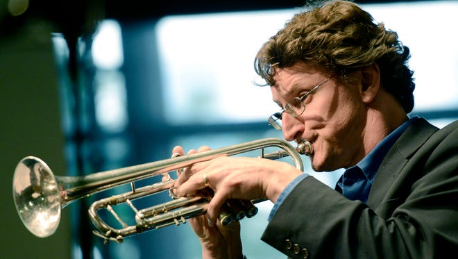 Jamey Simmons will be featured in a free Jazz on the Move concert on Sunday afternoon.