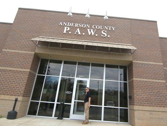 Anderson County animal shelter