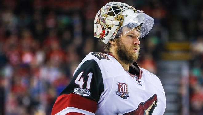 Former Coyotes goalie Mike Smith may have burned some bridges on his way out of Arizona.