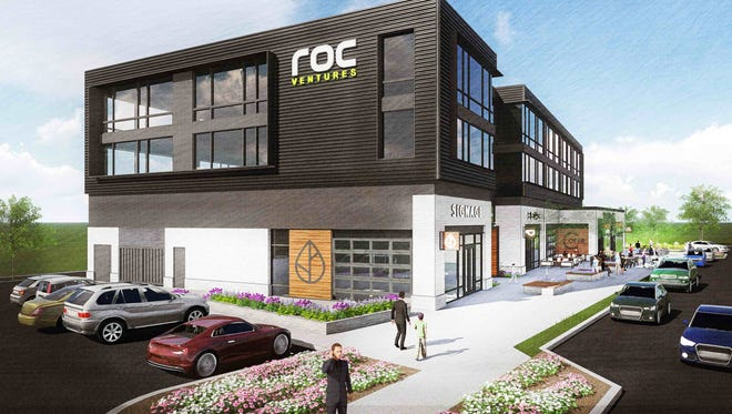 Stevens Construction Corp. has been chosen to build this three-story building at Ballpark Commons in Franklin. The building will be home to ROC Ventures and Marso Companies Construction.